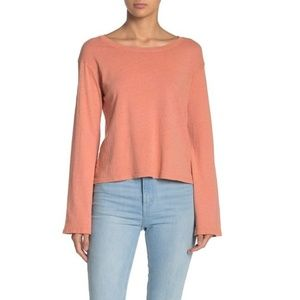 🔥 80% OFF SALE 🔥 Nation LTD Boxy Bell Sleeve Top